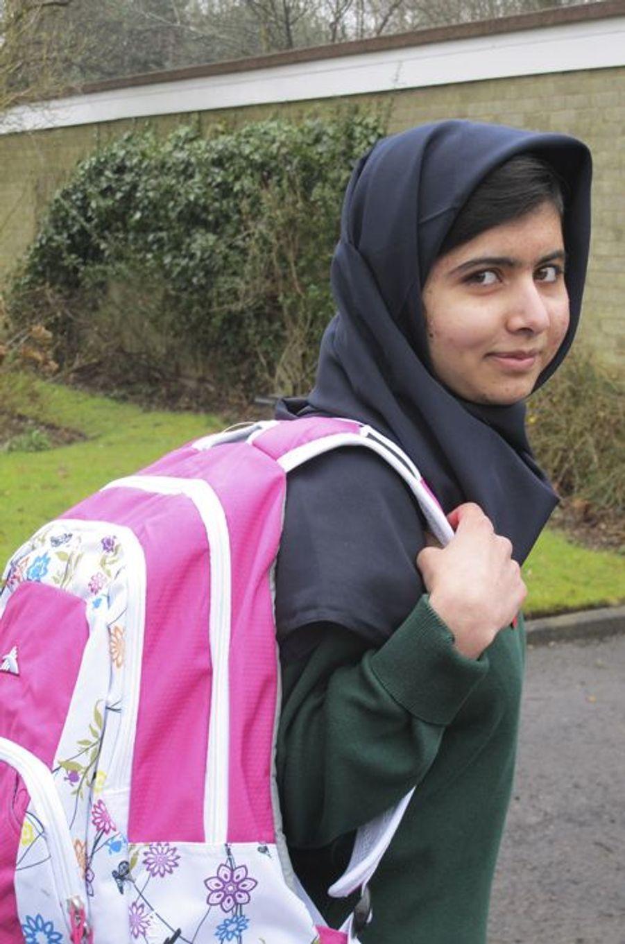 Retour à l'école à Edgbaston pour Malala, le 19 mars 2013