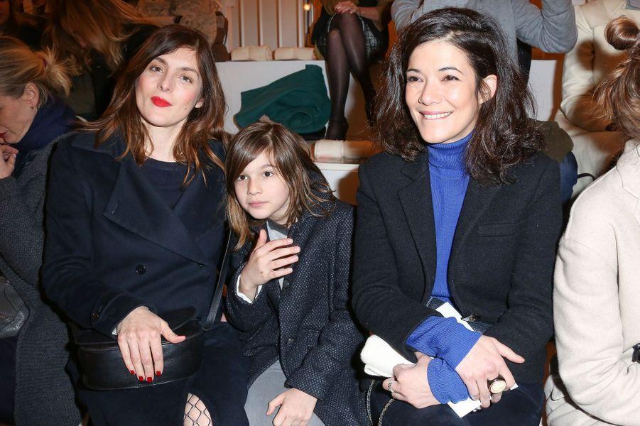 Valérie Donzelli et Mélanie Doutey à Paris le 27 janvier 2016