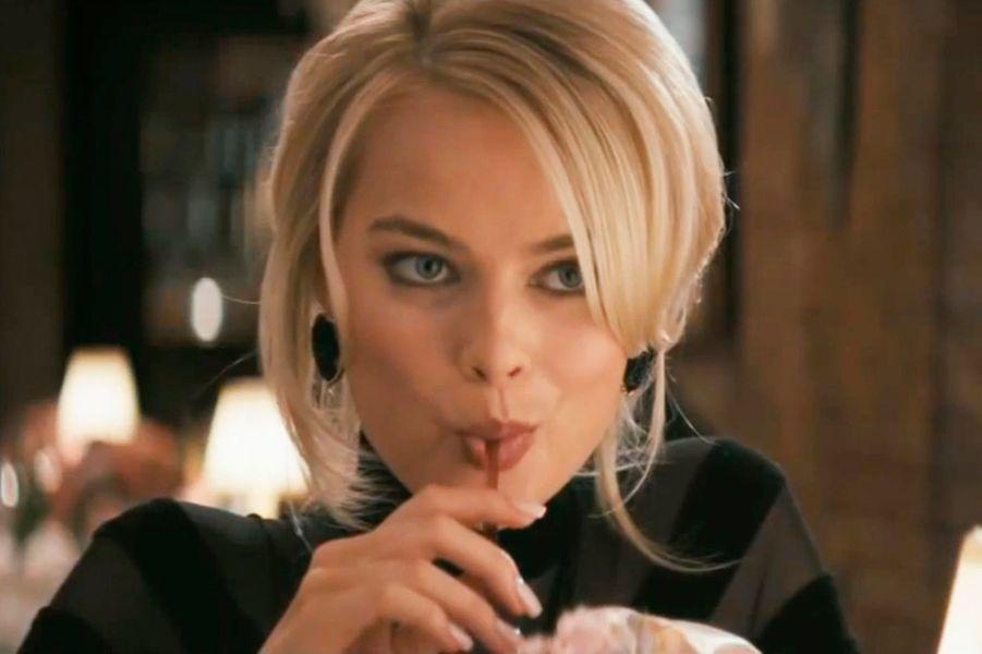 """Piquante avec un faux-air de Nicole Kidman dans """"Le loup de Wall Street""""..."""