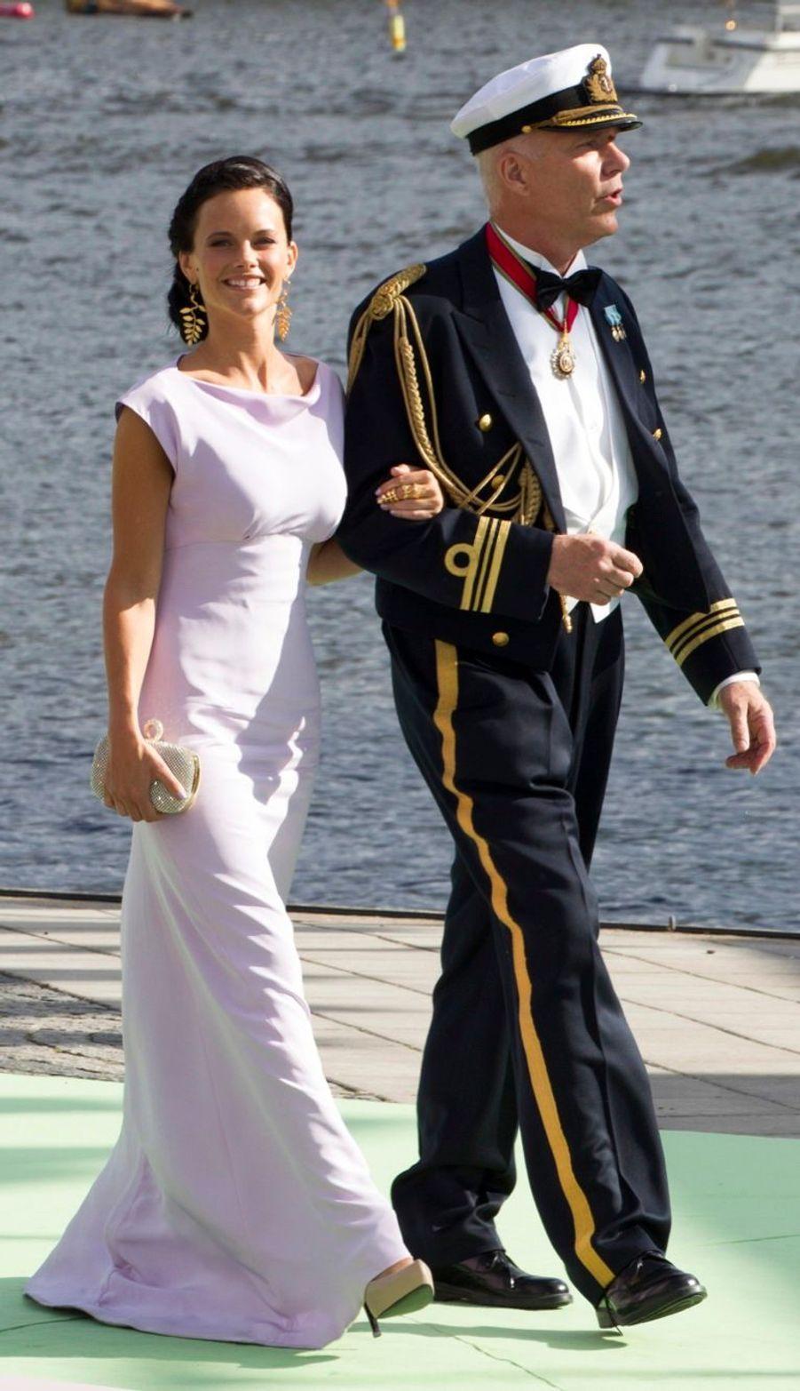Sofia au mariage de la princesse Madeleine en juin 2013