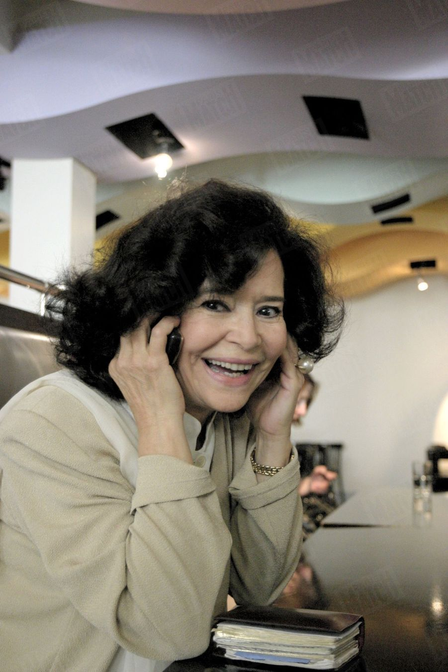 Marie-José Nat, en 2003.