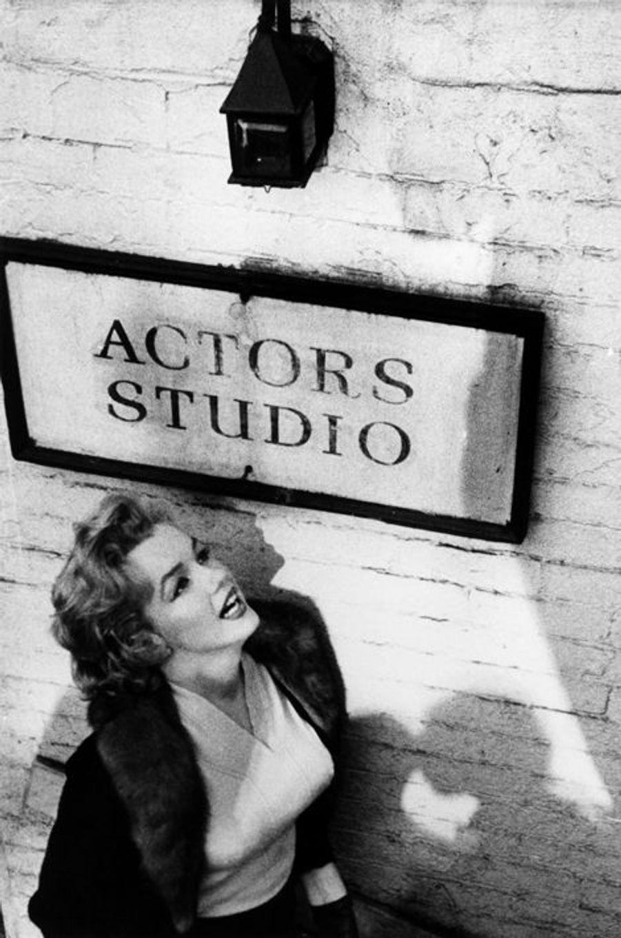 Marilyn Monroe à l'Actor's studio en 1956