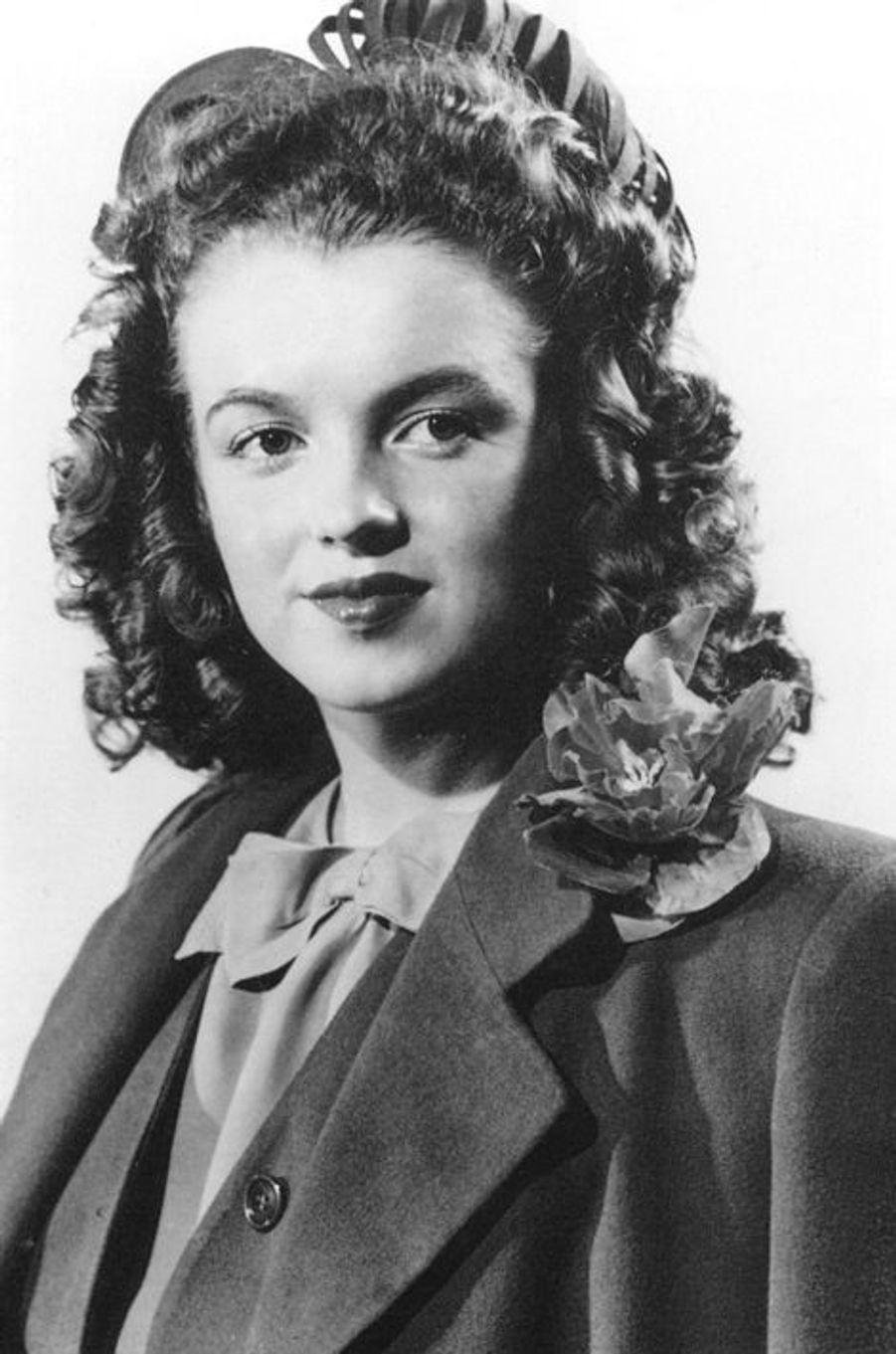 Norma Jean Baker à 18 ans