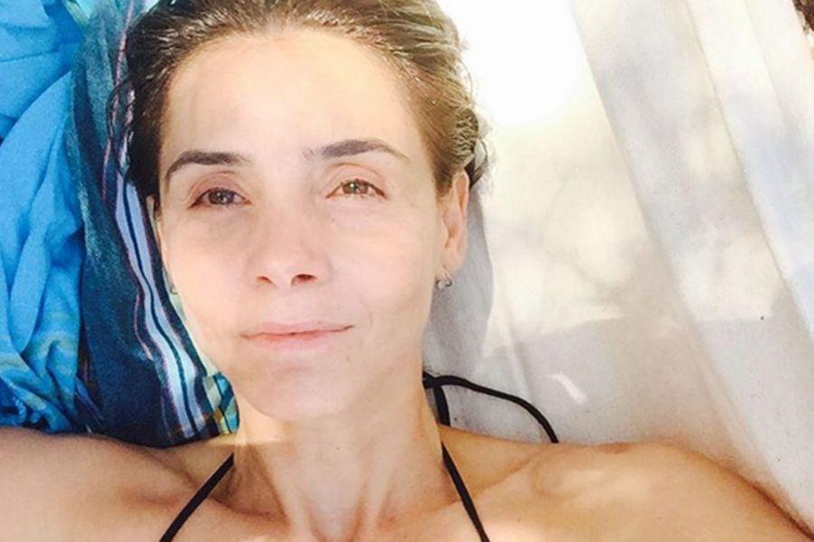 Clotilde Courau en vacances