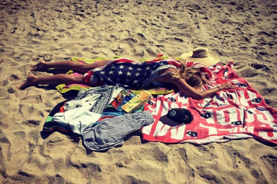 Heidi Klum est fatiguée du 4 Juillet, fête nationale aux Etats-Unis