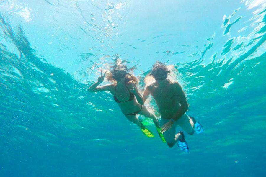 Heidi Klum fait de la plongée aux côtés de son nouvel amoureux