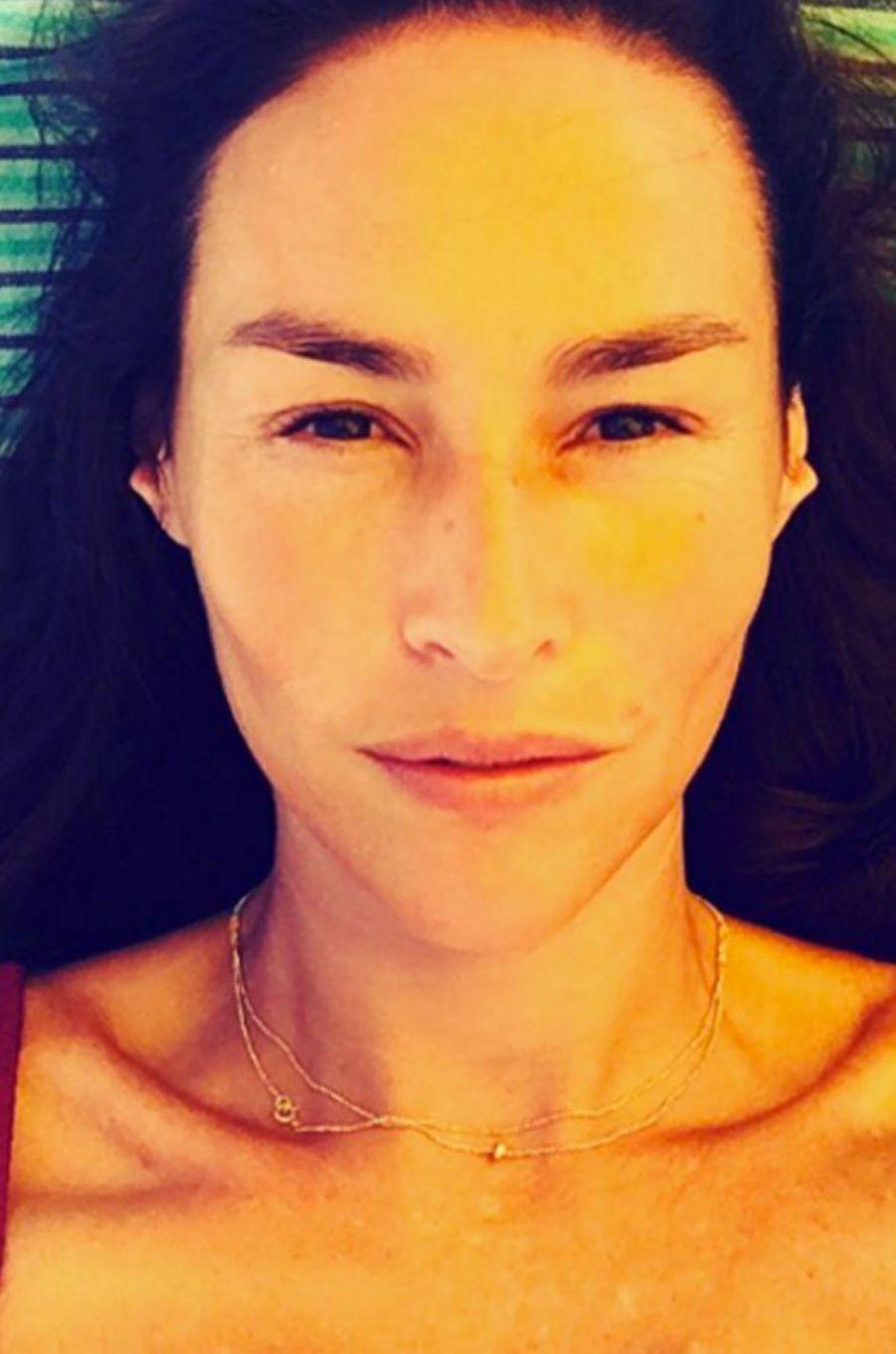 Vanessa Demouy une beauté sauvage qui n'a pas besoin de maquillage