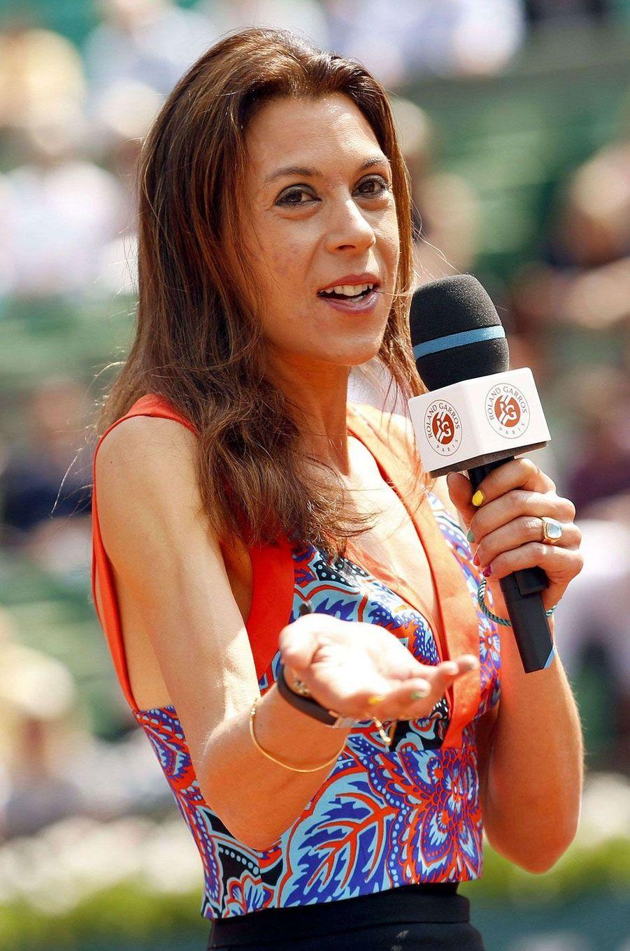 Marion Bartoli le 27 mai 2016