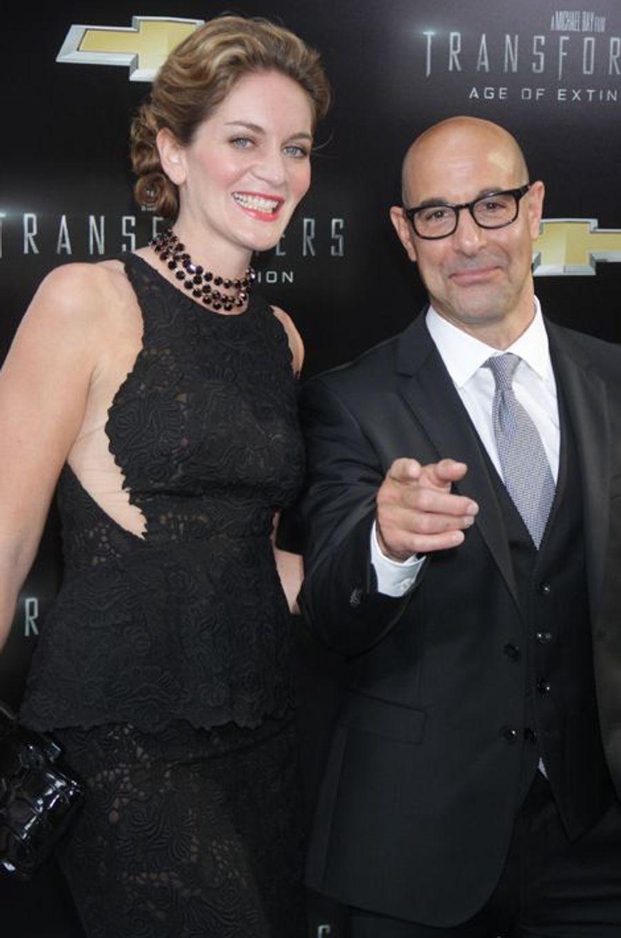 Stanley Tucci et Felicity Blunt
