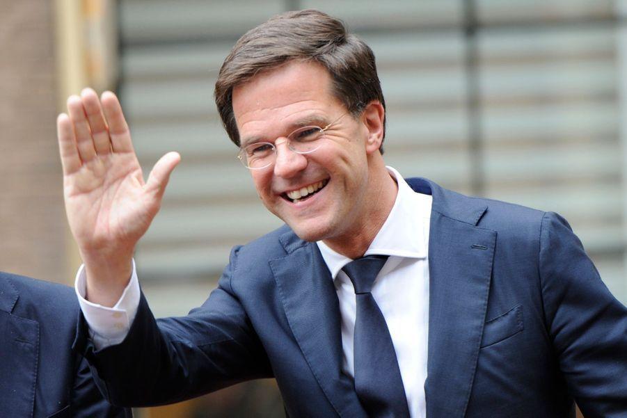 Mark Rutte, Ministre-président des Pays-Bas