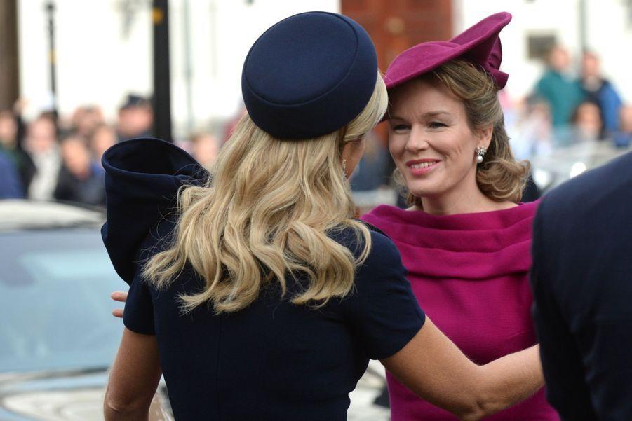 Mathilde et Maxima, un match de reines