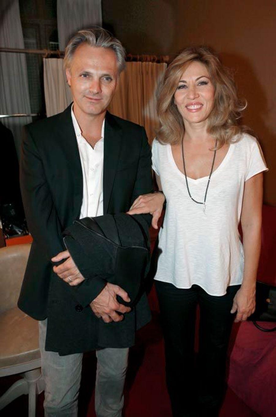 Mathilde Seigner et son mari Matthieu Petit.