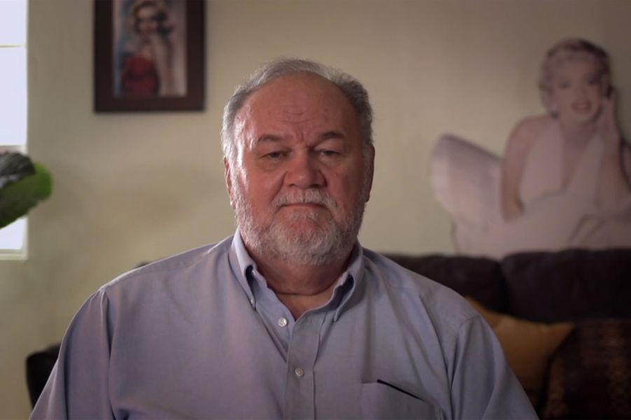 Image extraite du documentaire « Thomas Markle : My Story » diffusé mercredi 22 janvier, la chaîne britannique Channel 5.