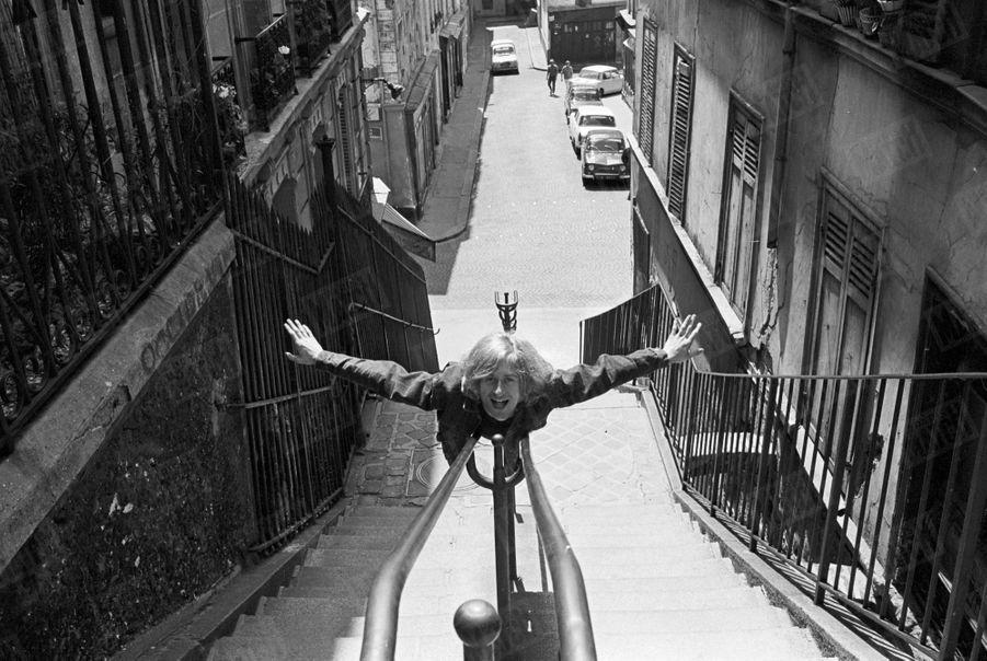 Le premier rendez-vous de Michel Polnareff avec Paris Match, en 1966.