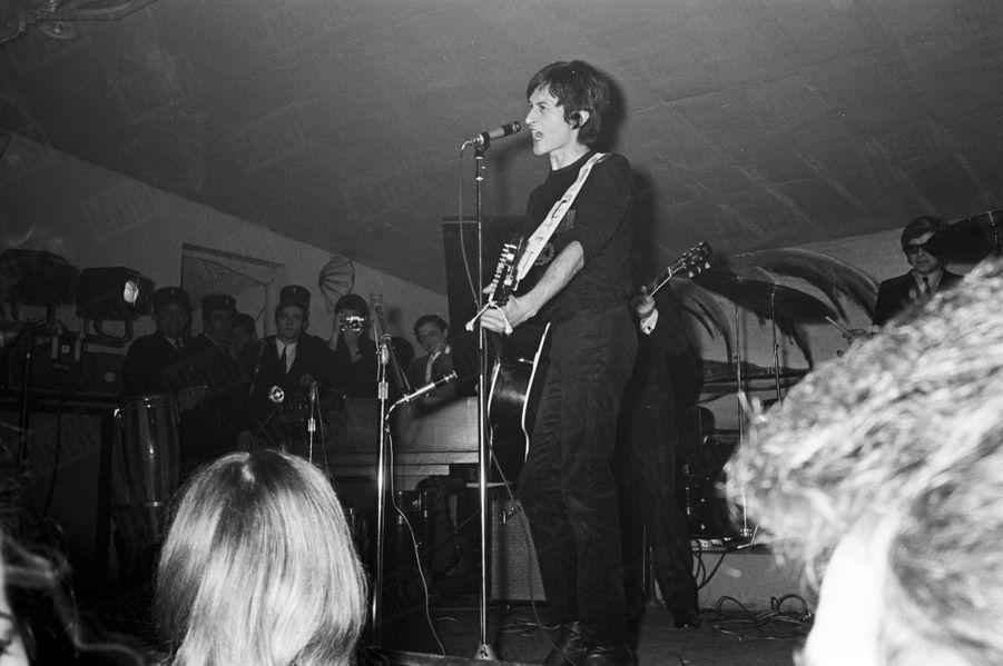 Michel Polnareff, en mars 1967.