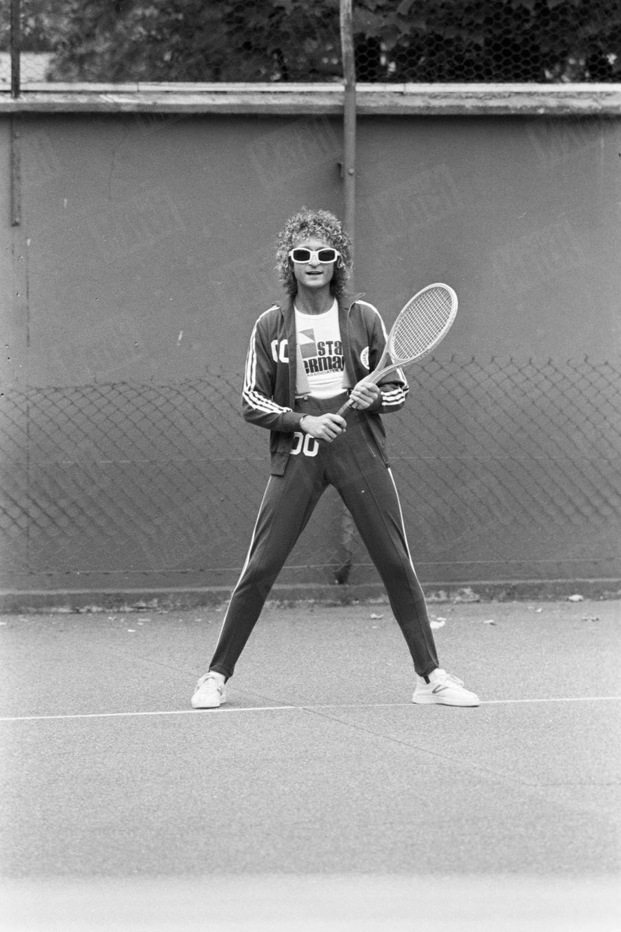 Michel Polnareff à Paris, en octobre 1978.