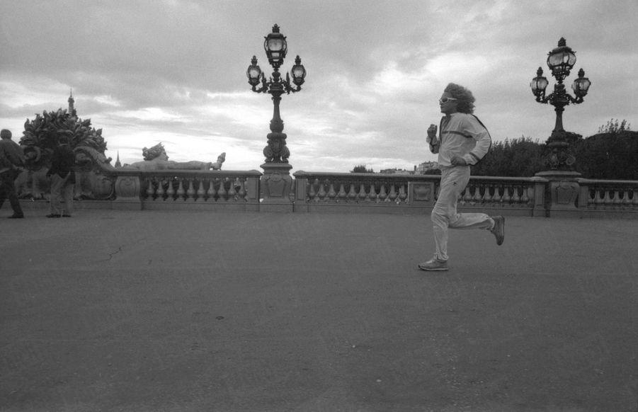 Michel Polnareff à Paris, en septembre 1981.