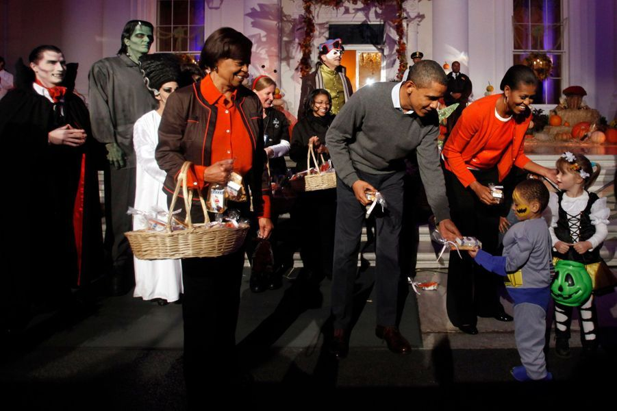 31 octobre 2010 : effrayant Halloween à la Maison blanche