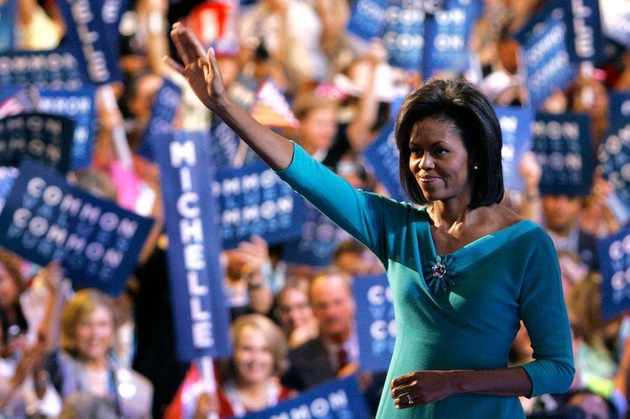 Août 2008, la campagne présidentielle bat son plein