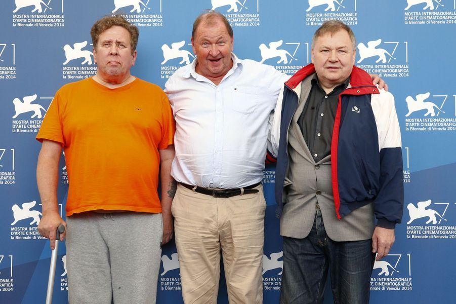 Holger Andersson, Roy Andersson et Nils Westblom