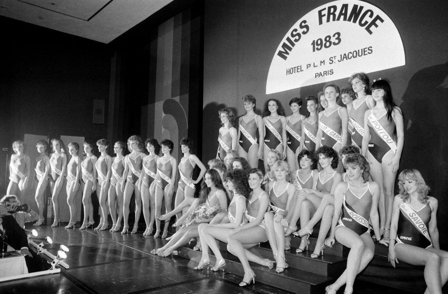 Miss France 1983 Isabelle Turpault Destituée Dauphine Frédérique Leroy Photos 1