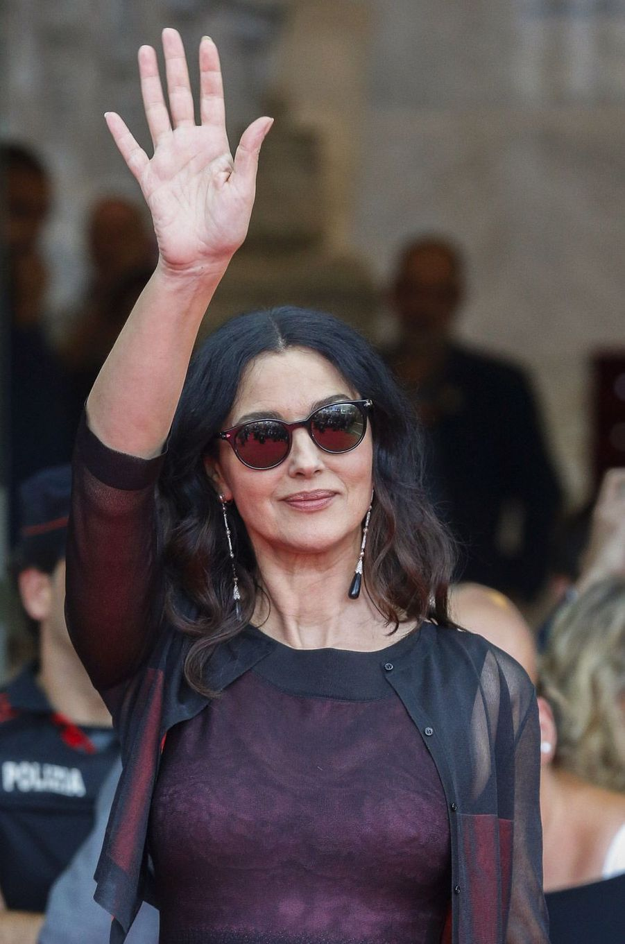 Monica Bellucci au Festival du Film de San Sebastian