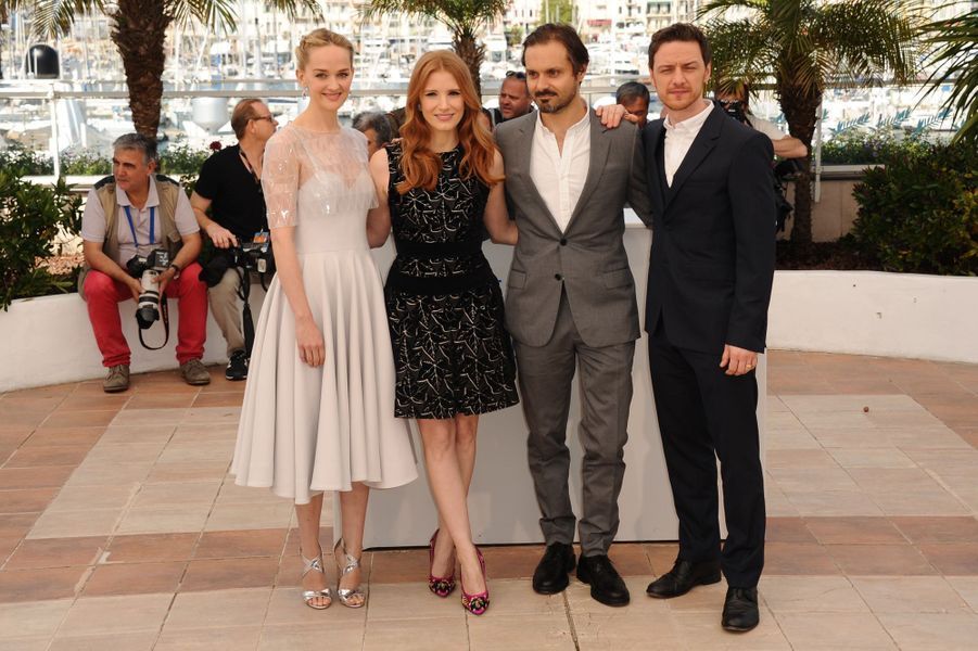 "L'équipe de ""The Disappearance Of Eleanor Rigby"""