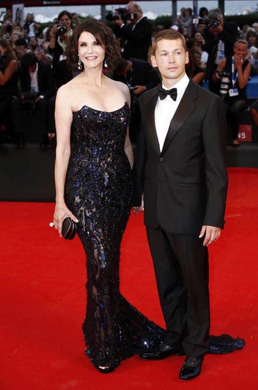 Alessandra Martines et Cyril Descours sur le tapis rouge de «Hungry Hearts»