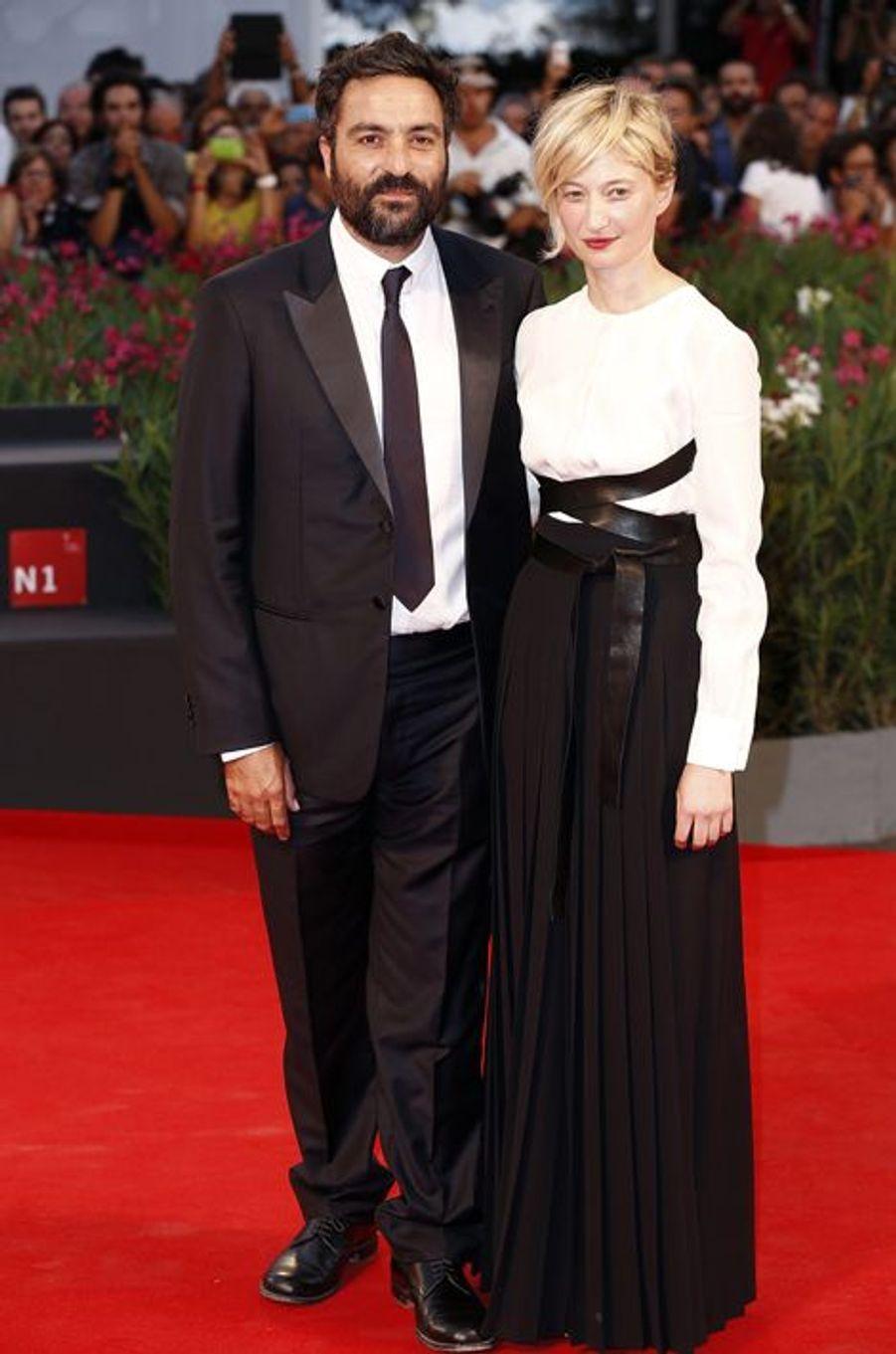 Saverio Costanzo et Alba Rohrwacher sur le tapis rouge de «Hungry Hearts»