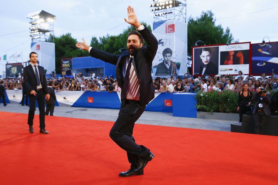 Saverio Costanzo sur le tapis rouge de «Hungry Hearts»
