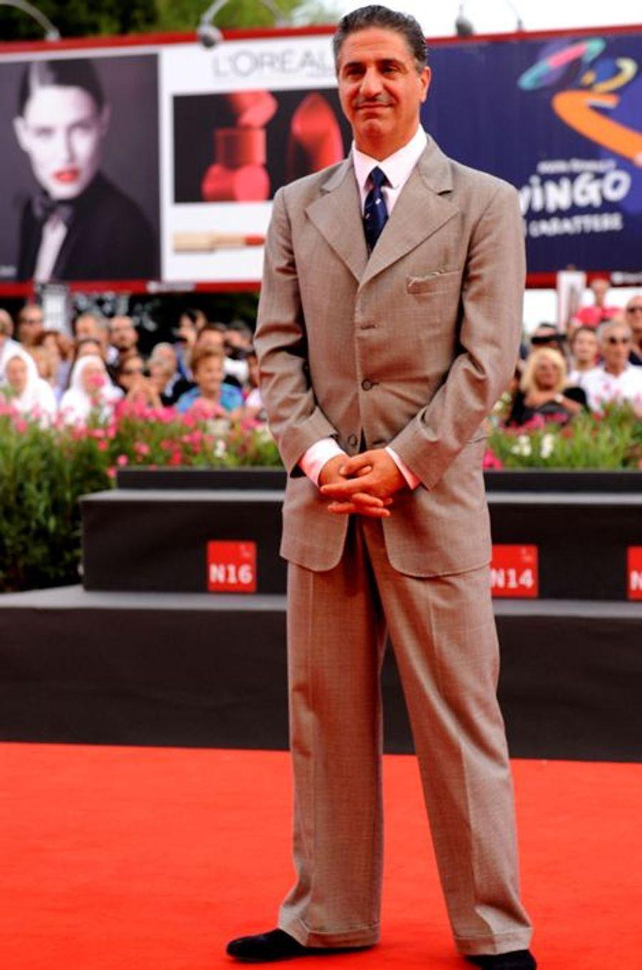 Simon Abkarian sur le tapis rouge de «The Cut»