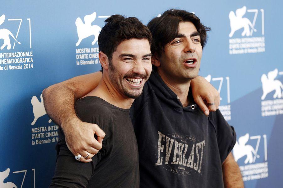 Tahar Rahim et Fatih Akin au photocall de «The Cut»