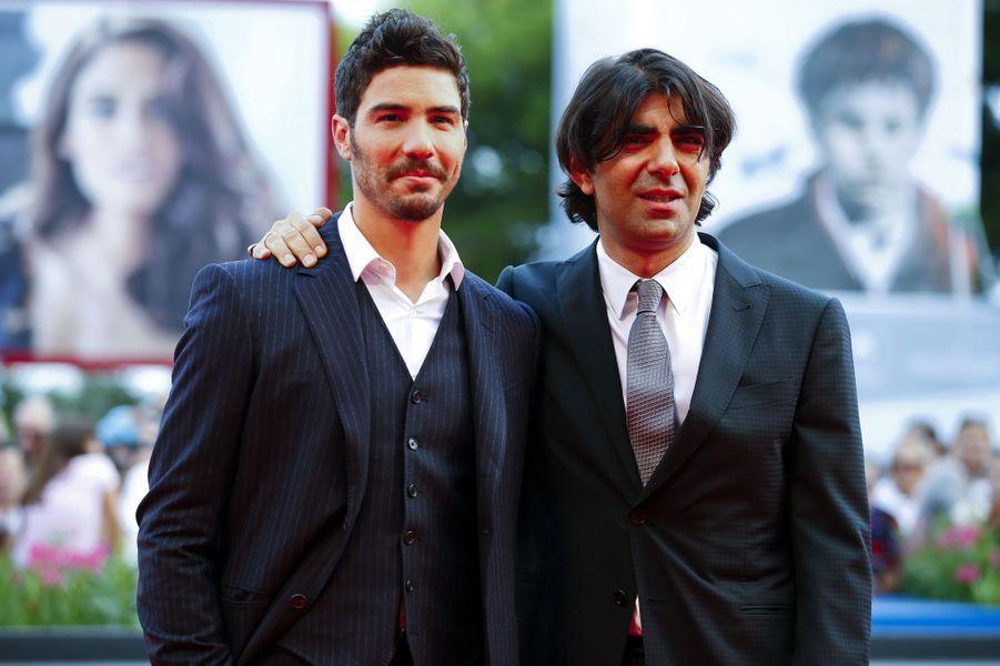 Tahar Rahim et Fatih Akin sur le tapis rouge de «The Cut»