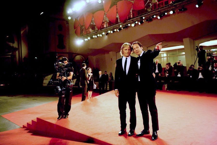 Viggo Mortensen et Reda Kateb sur le tapis rouge de «Loin des hommes»