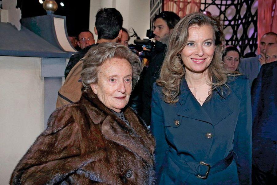 Bernadette Chirac et Valérie Trierweiler