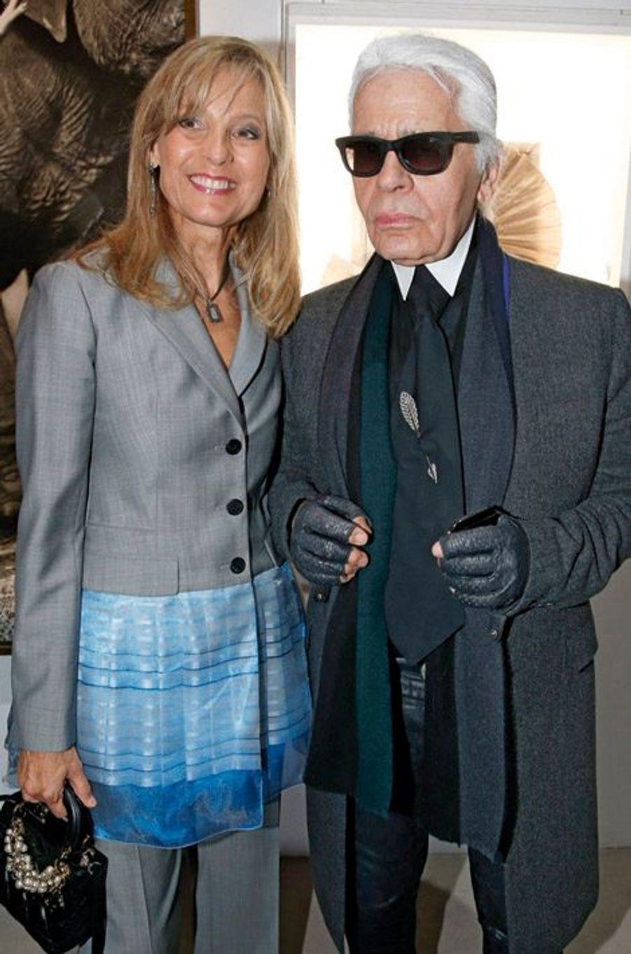 Hélène Arnault, Karl Lagerfeld