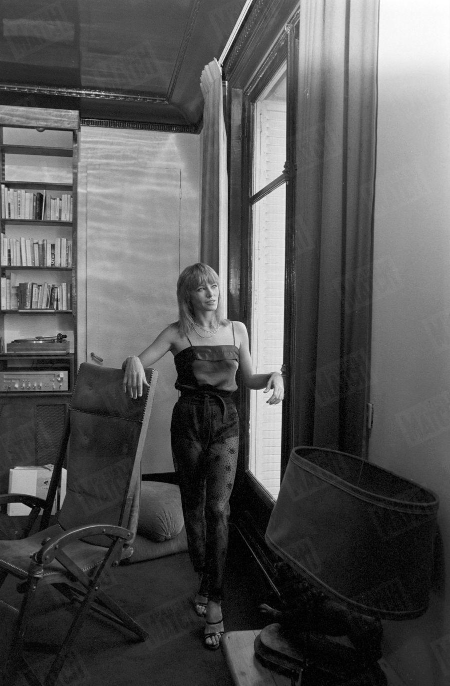 Nathalie Delon pour Paris Match, novembre 1978.