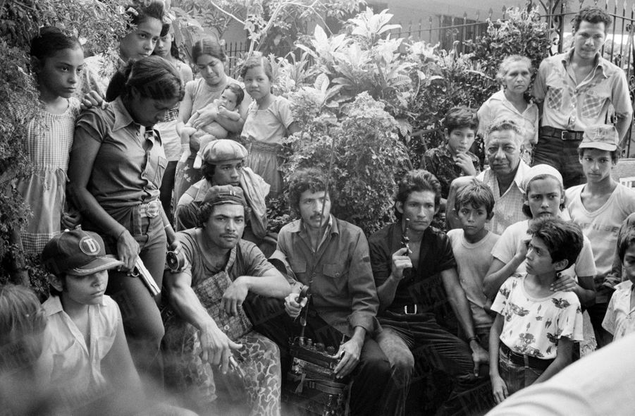 La révolution sandiniste contre le régime du président Somoza au Nicaragua, en juin 1979.
