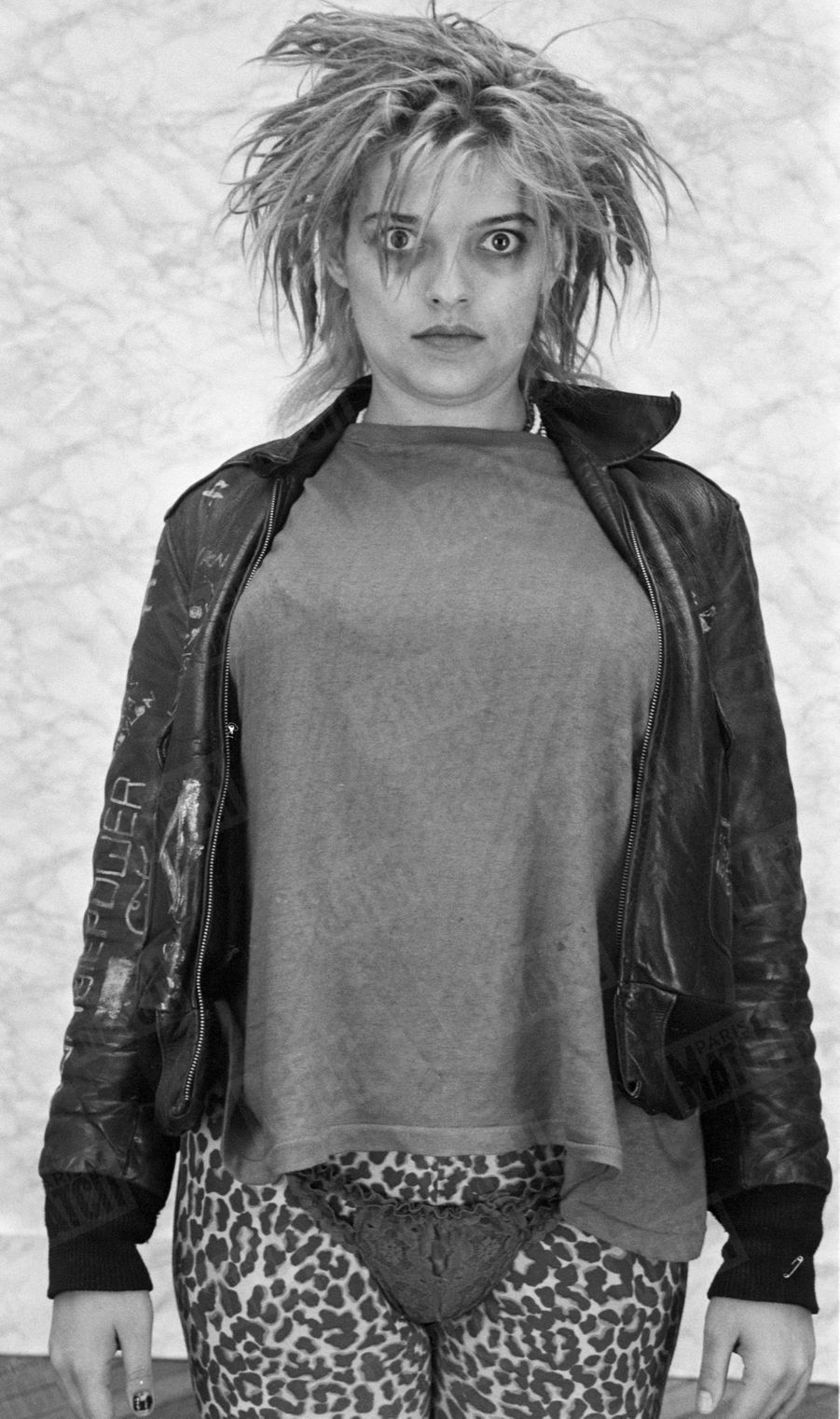 Nina Hagen pour Paris Match, en octobre 1980.