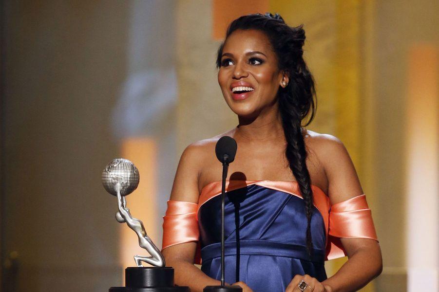 Son rôle dans «Scandal» a valu à Kerry Washington d'être sacrée meilleure actrice dans une série dramatique.