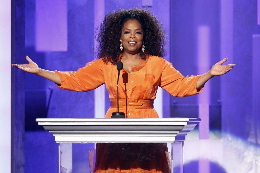 Oprah Winfrey a rendu hommage à Nelson Mandela décédé en décembre dernier.