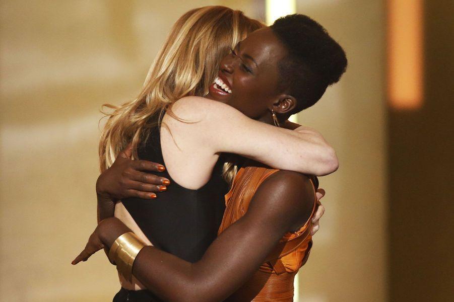 Lupita Nyong'o, héroïne de «12 years a slave», a reçu le prix de la meilleure actrice pour son rôle dans le film de Steve McQueen.