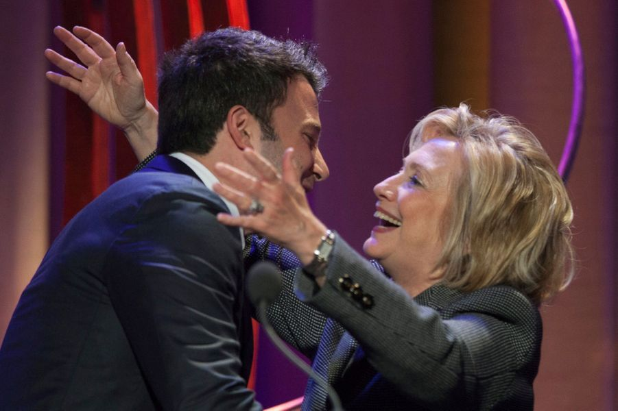 Ben Affleck et Hilary Clinton