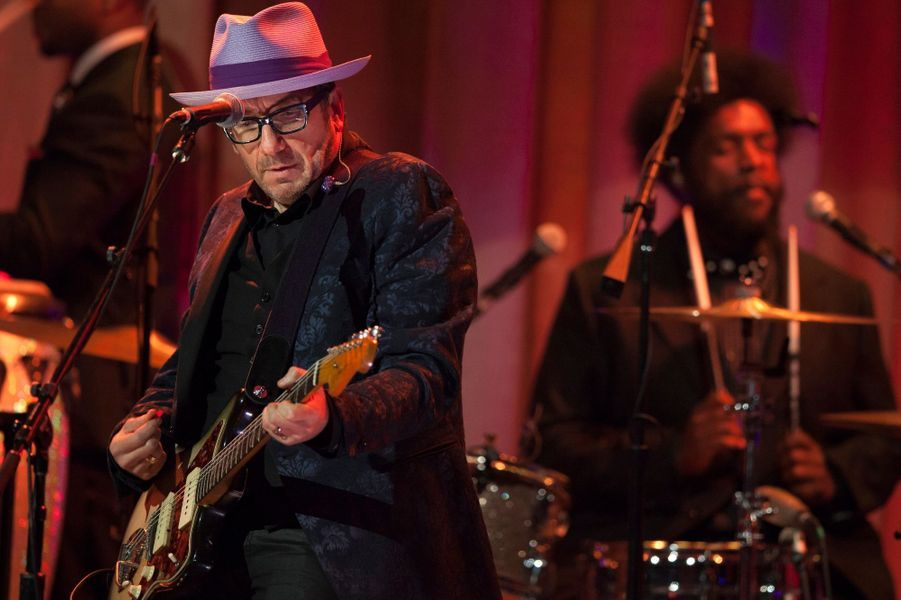 Elvis Costello sur scène