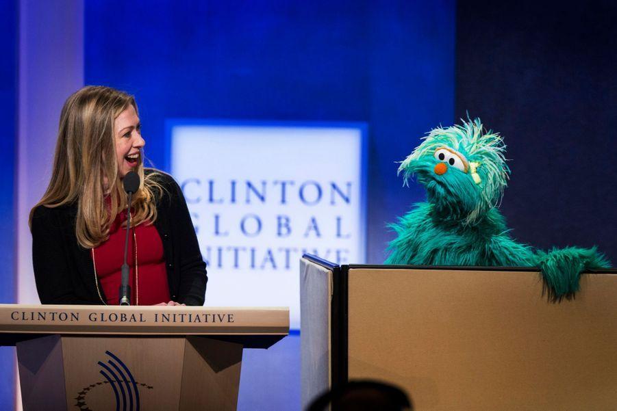 Interlocuteur de choix pour Chelsea Clinton