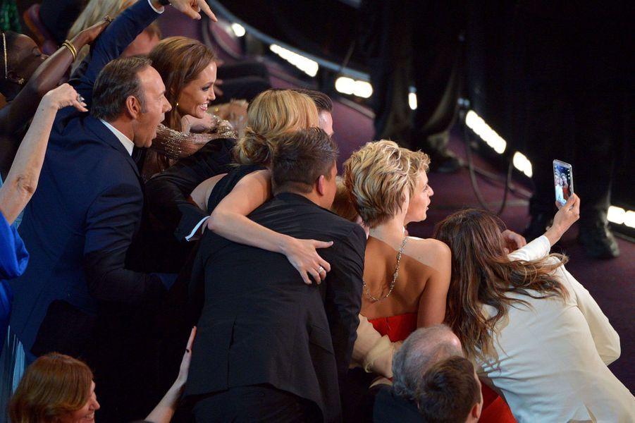 Kevin Spacey, Angelina Jolie, Julia Roberts, Brad Pitt, Jennifer Lawrence, Ellen Degeneres, Jared Leto, etc...
