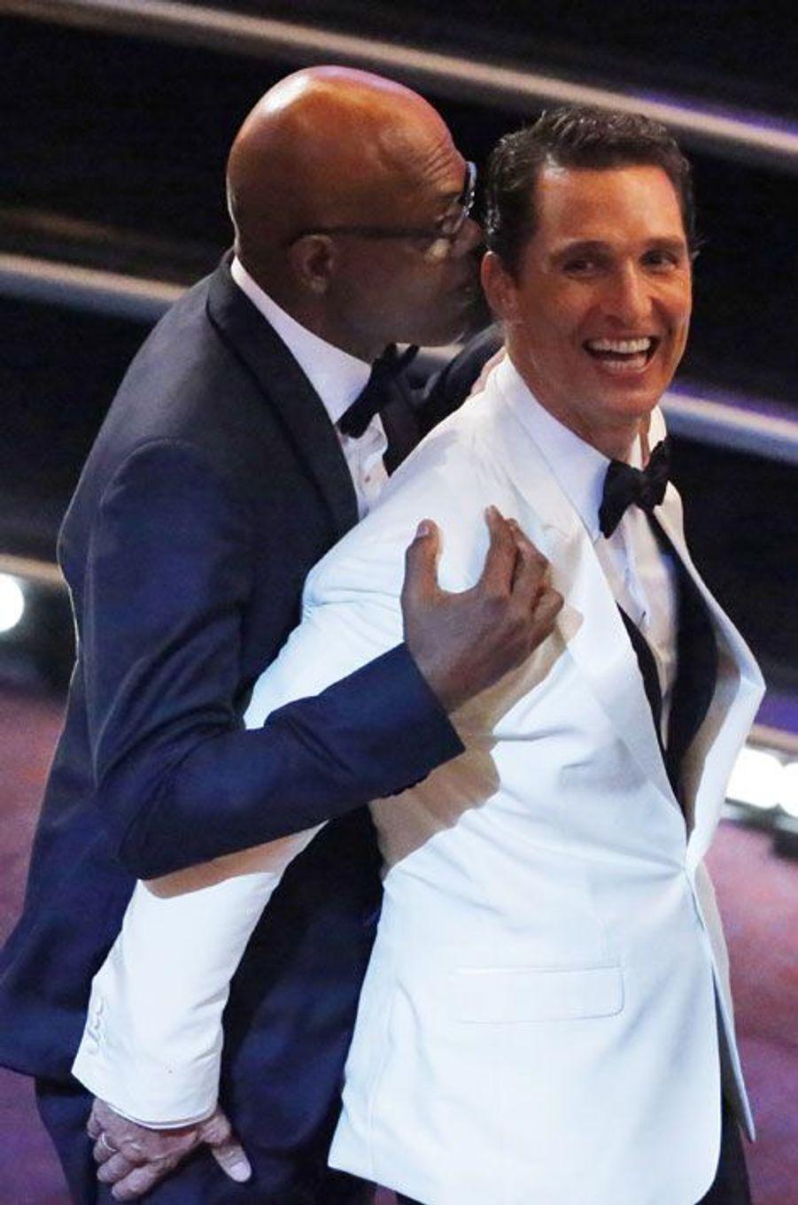Matthew McConaughey et Samuel L. Jackson
