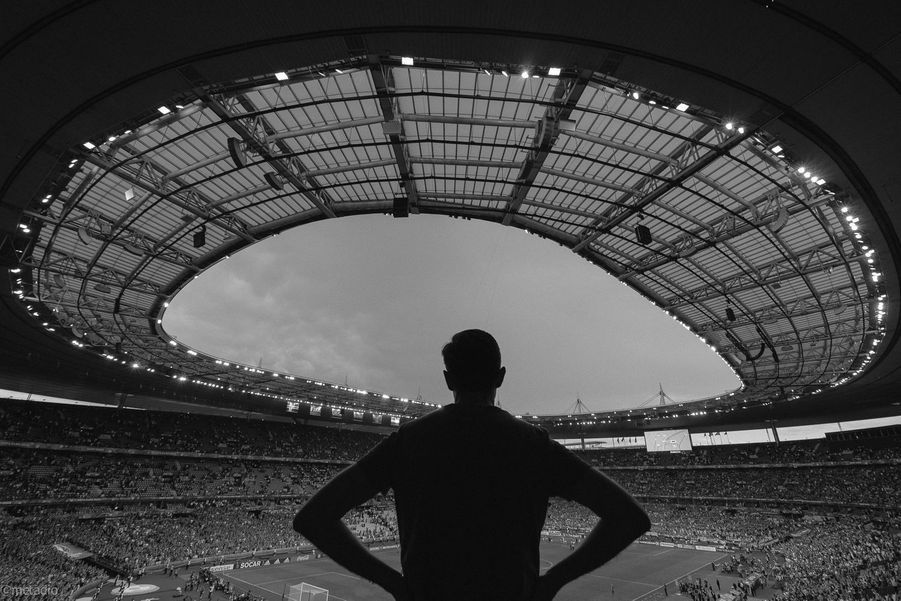 3ème prix - Metadio - Le supporter, Stade de France, juin 2016