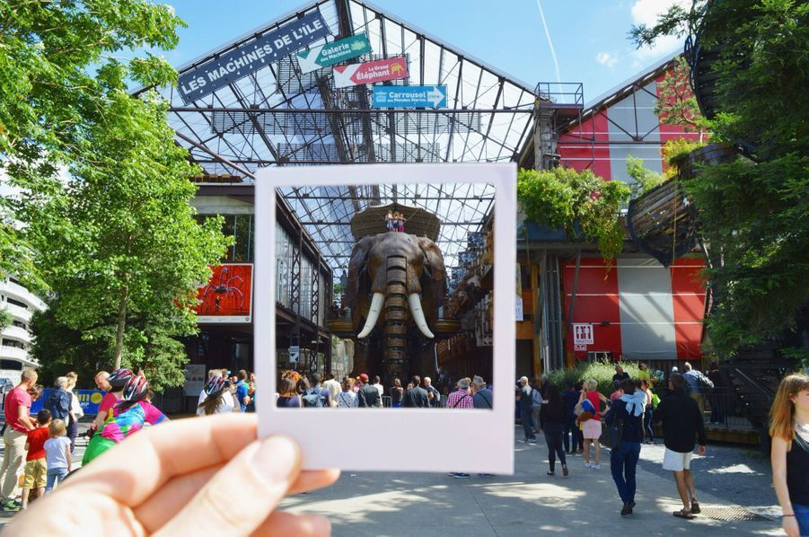6ème prix - Dams_gz - L'éléphant de Nantes