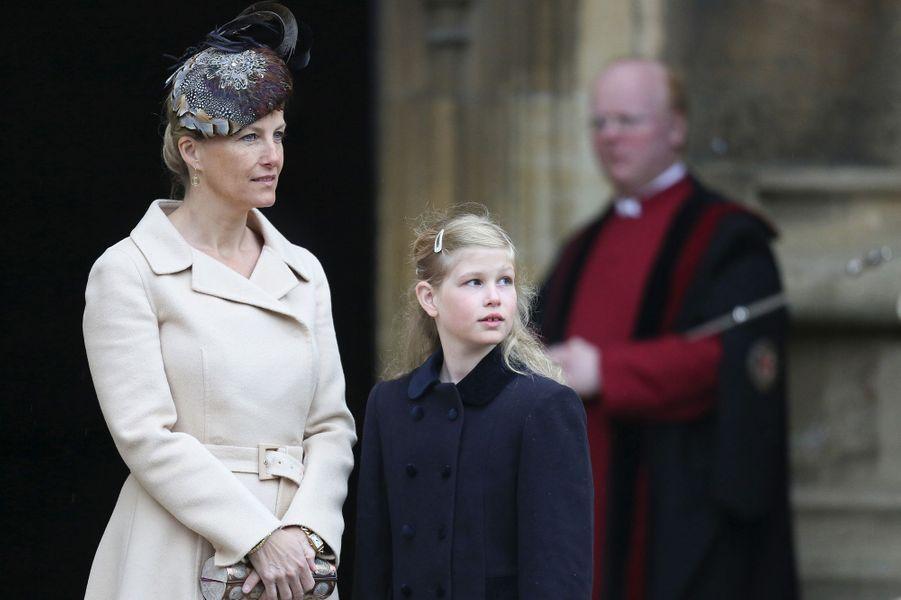 Sophie de Wessex et sa fille Louise